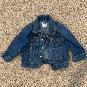Old Navy Dark Wash Denim Jacket 2T